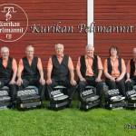 Kurikan Pelimannien harmonikansoittajat: Heikki K, Heikki L, Pekka, Risto, Jaana ja Voitto